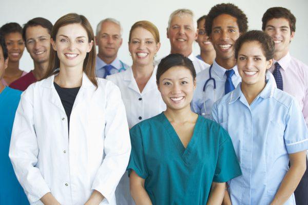 42163834 - portrait of medical team
